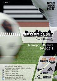 Teamsportoffensive 2012-2013 - Sporthaus am Ring