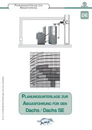 Planungsunterlage Abgasführung - SENERTEC - Service