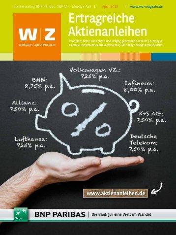 W Z Magazin 04/2012 - BNP Paribas