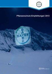 Pflanzenschutz-Empfehlungen 2013 - Bayer CropScience