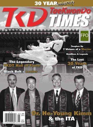 Dr. He-Young Kimm - Taekwondo Times
