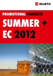 promotionalproducts summer + ec 2012 - Wurth