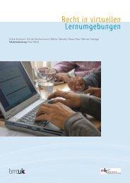 Recht in virtuellen Lernumgebungen (pdf) - Bildung.at