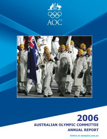 2006 australian olympic committee annual report