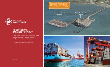 Project Definition Cons... - Roberts Bank Terminal 2 Project