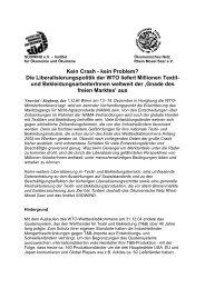 Stellungnahme - Ökumenisches Netz Rhein-Mosel-Saar