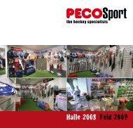 Katalog 2008/09 - PECO Sport Stuttgart