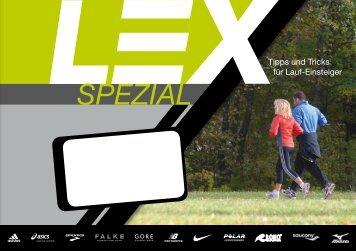 Lex Magazin 2010 – Sonderheft für Einsteiger - Lunge Lauf