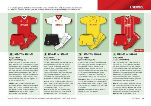 Liverpool - True Colours Football Kits 71566055c