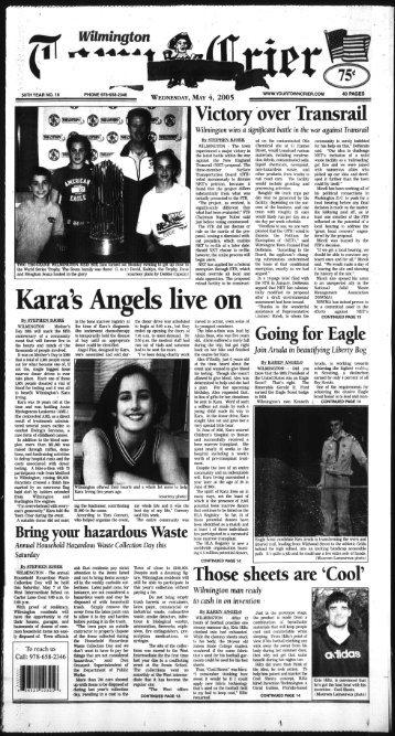 Kara's Angels live on - Wilmington Town Crier