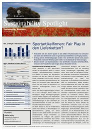 Sustainability Spotlight: Sportartikelfirmen: Fair Play in den ...