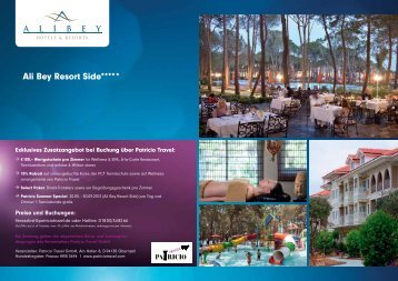 Ali Bey Resort Side***** - Fitness First