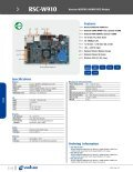 Avalue Datasheet RSC-W910 (197 kB) - Avnet Embedded - Page 2