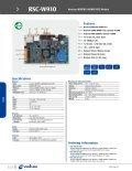 Avalue Datasheet RSC-W910 (197 kB) - Avnet Embedded - Page 2