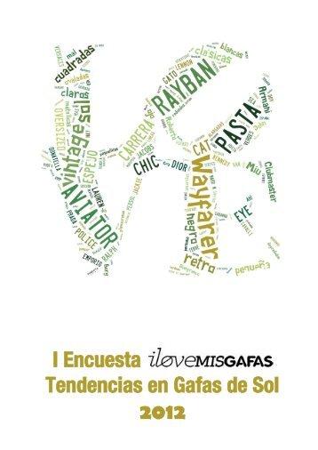I Encuesta Tendencias en Gafas de Sol 2012 - Ilovemisgafas