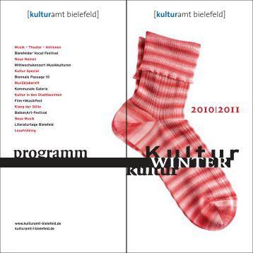 programm - Kulturamt Bielefeld