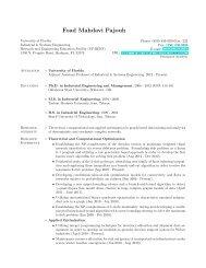 Curriculum Vitae - REEF - University of Florida