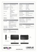 Android Media Player 1080p Brochure - Sirkom - Page 2