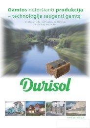 """Mediena − """"Durisol"""" natūralių statybos medžiagų pagrindas"""