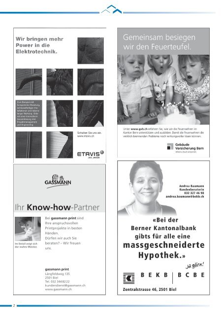 HEV-Information Nr. 116 - Hauseigentümerverbandes Biel