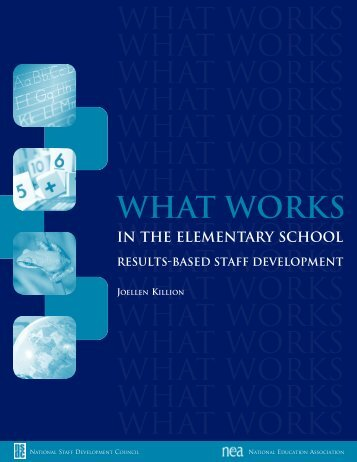 What Works in the Elementary School - Frisco ISD