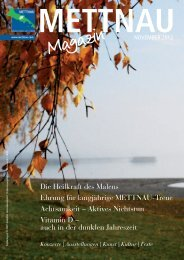 Magazin - mettnau