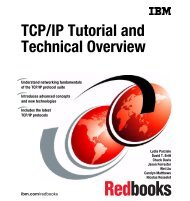 TCP/IP Tutorial and Technical Overview - IBM Redbooks