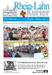 Jahrgang 53 FREITAG, 15. Februar 2013 Nummer 07 ...  - Lahnstein