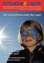 Die Schulreform unter der Lupe! - schabernack-online.de