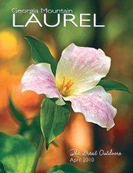 April 10 Book - Georgia Mountain Laurel