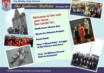 Seahorse Bulletin January 2011 - The Whitby High School