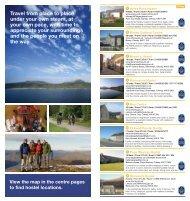 SIH Hostel Guide - Scottish Independent Hostels