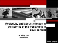 Resistivity and acoustic image in the service of the well and field ...