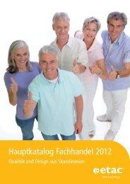 Hauptkatalog Fachhandel 2012 - Etac