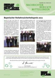 Dezember - Verkehrswacht Bayern