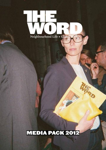 Download our media pack 2012 - The Word Magazine
