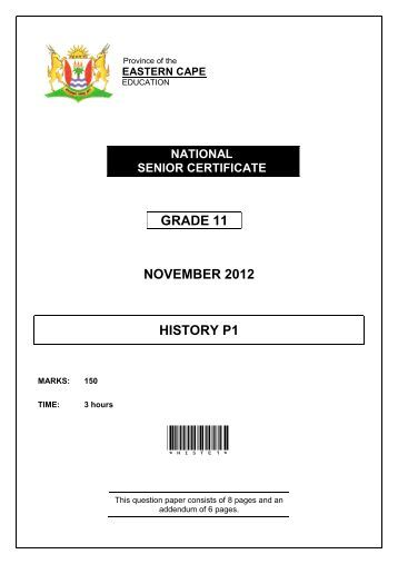 Grade 11 september language exam