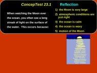 Chap. 23 Conceptual Modules Giancoli