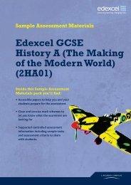 Edexcel GCSE 2009 History A - gcsehistory