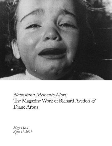Newsstand Memento Mori: The Magazine Work of ... - Megan Lau