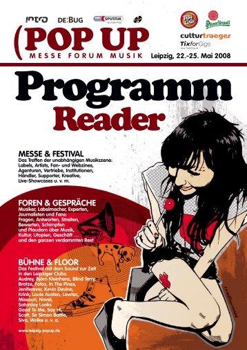 messe & festival foren & gespräche bühne & floor - Pop Up