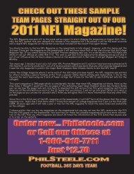 2011 NFL Magazine! - Phil Steele