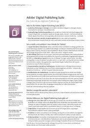 Adobe® Digital Publishing Suite - Adobe Digital Marketing