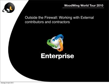 Enterprise - Smart Mover - Smart Community - Woodwing.net