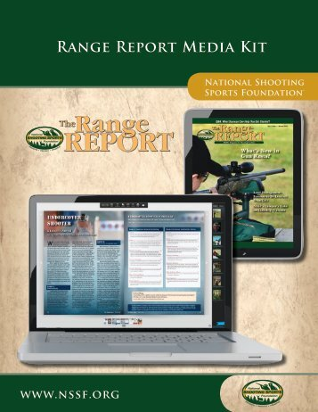 Range Report Media Kit - National Shooting Sports Foundation