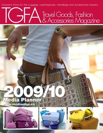 Travel Goods, Fashion & Accessories Magazine - MediaEdge