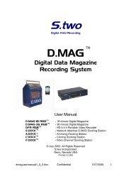 Digital Data Magazine Recording System - Cinematography Mailing ...