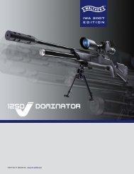 Walther LG1250 Dominator Prospekt D / E