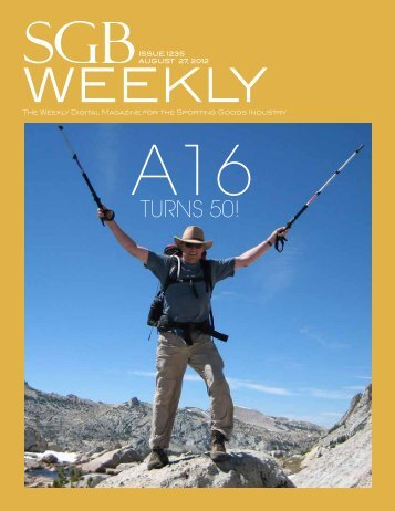The Weekly Digital Magazine For The Sporting Goods