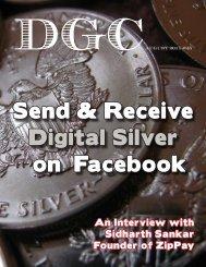 Send & Receive Digital Silver on Facebook - DGC